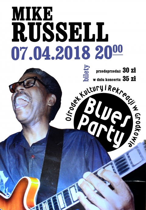 BLUES PARTY Mike Russell